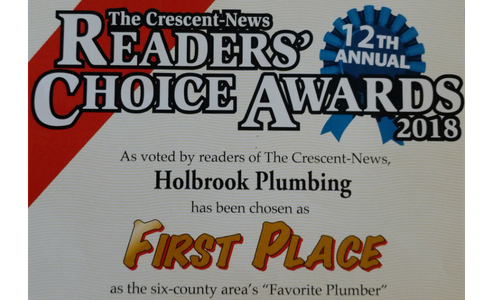 Area's Favorite Plumber, Holbrook Plumbing